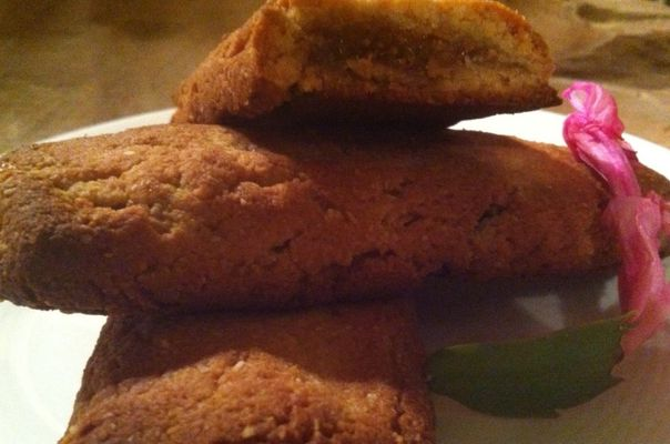 Vijgen koekjes met amandelmeel