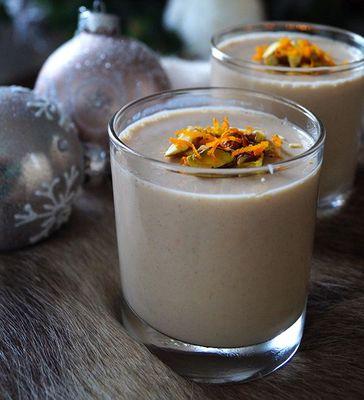 Chai panna cotta met sinaasappel