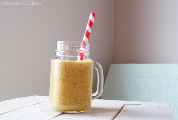 Proteïne mango smoothie
