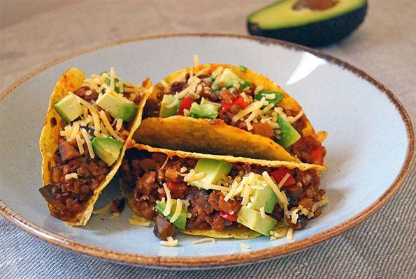 Vegetarische taco