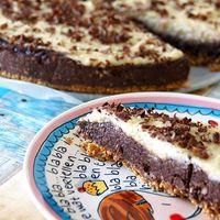 Chocoladetaart met vanille