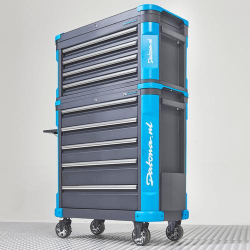 Verrijdbare gereedschapswagen met topkist XL - Premium serie 1