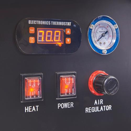 Hogedruk ontvetting onderdelenreinigers met thermostaat