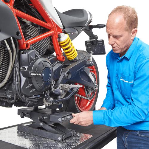 Elektrische motorheftafel 120 cm hoog 8