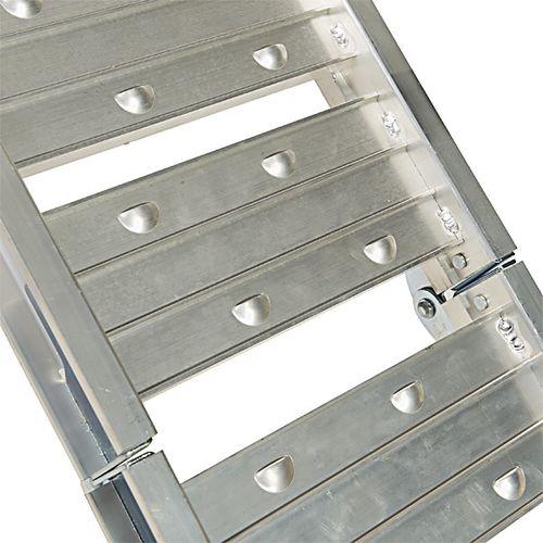 Oprijplaat aluminium opvouwbaar - 182 cm 1