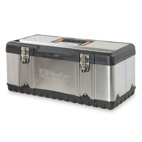 Beta RVS gereedschapskoffer leeg 1