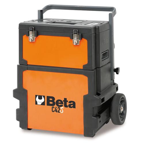 Beta gereedschapstrolley met 2 compartimenten 1