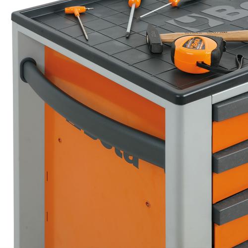 Beta gereedschapskar met 7 laden grijs