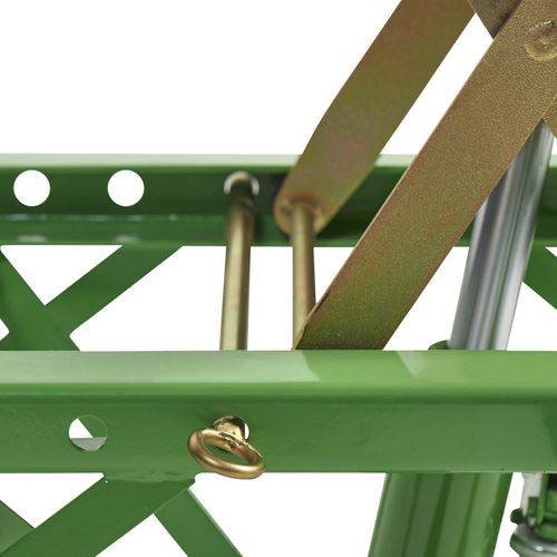 Crossbok voor Kawasaki crossmotoren groen