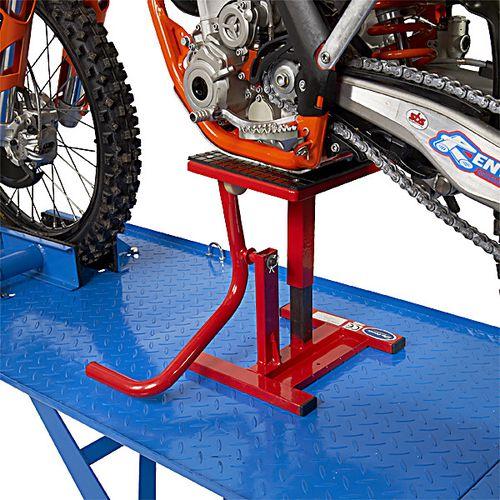 Crosslift voor Honda crossmotoren rode