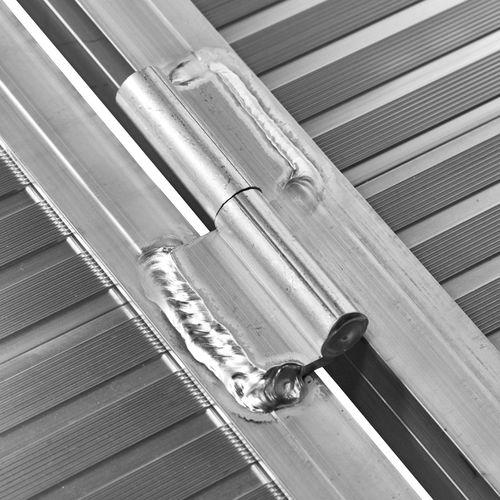 extra lange oprijplaat scootmobiel robuuste scharnieren