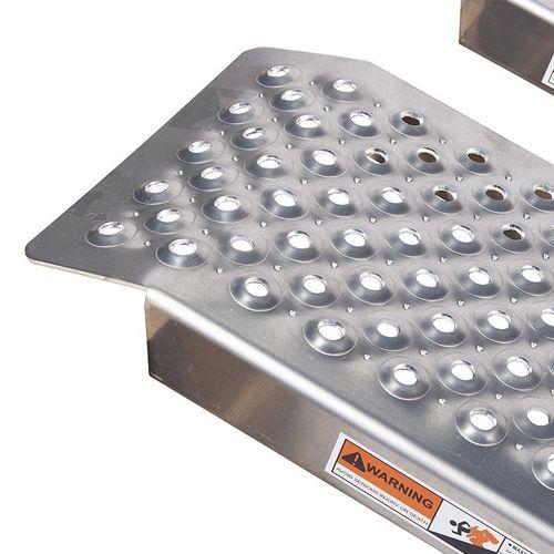 Aluminium oprijplaten zonder opstaande randen 250 cm