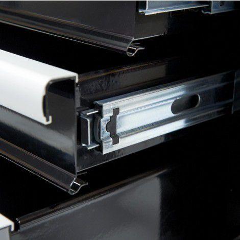 Werkplaatskasten set PRO XL - Zwart 8