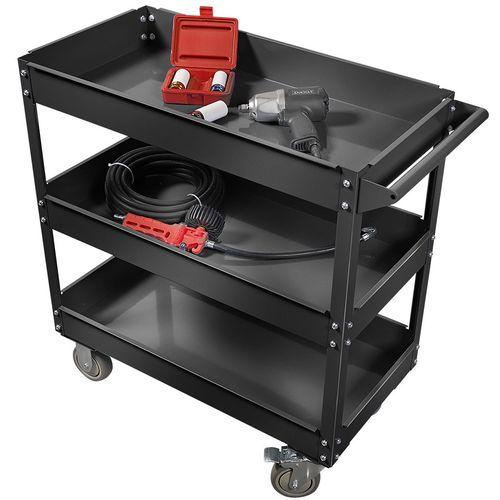 Verrijdbare gereedschapstrolley - zwart 1
