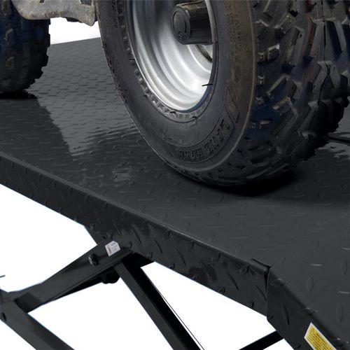 Heftafel voor motor of quad hydropneumatisch - zwart 4
