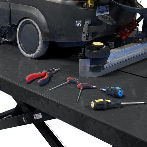 Heftafel voor motor of quad hydropneumatisch - zwart 5