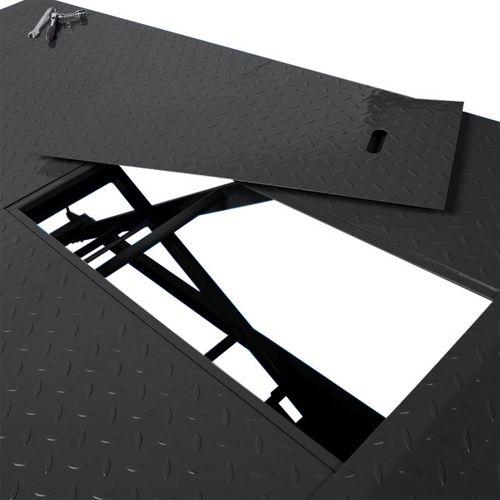 Heftafel voor motor of quad hydropneumatisch - zwart 3