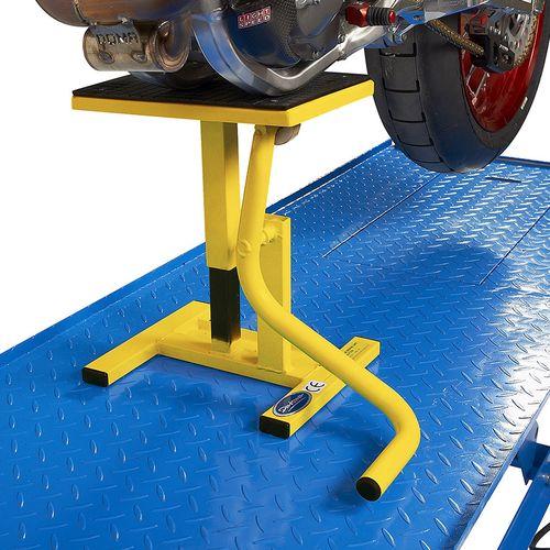 MX-bok voor Suzuki crossmotoren geel