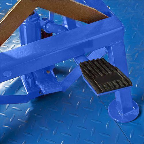 Crossbok voor Yamaha crossmotoren blauwe