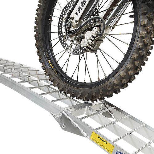 Oprijplaat aluminium opvouwbaar - 225 cm 1