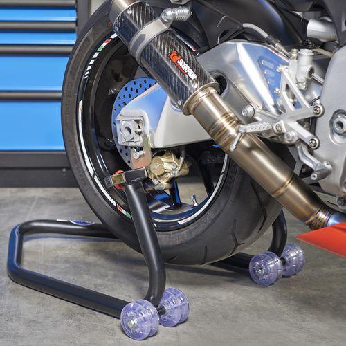 Paddockstand Black Xtreme achterwiel 1