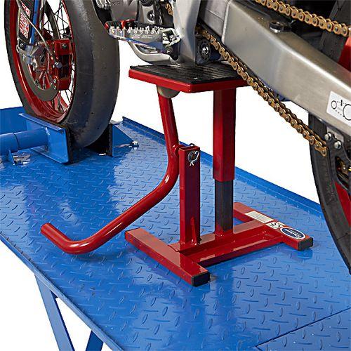 Motorlift voor Honda crossmotor