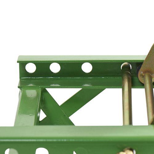 MX-bok voor Kawasaki crossmotoren groen