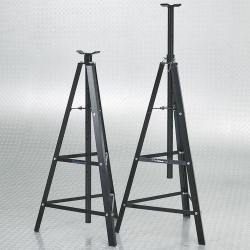 Twee hoge assteunen 2 ton set