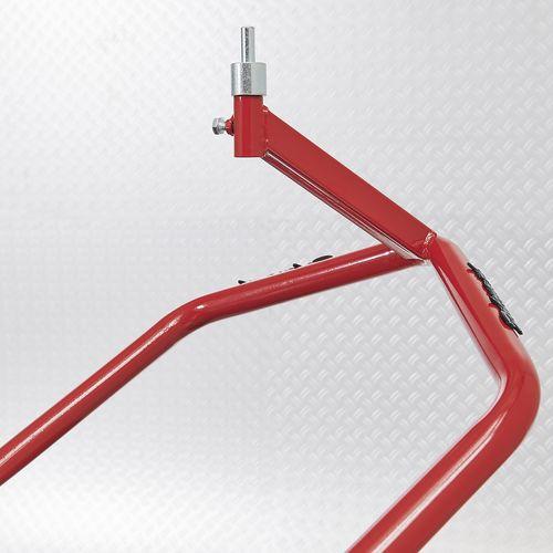 Adapter paddockstand voorwiel