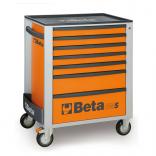 Beta gereedschapswagen met 7 laden - oranje 1
