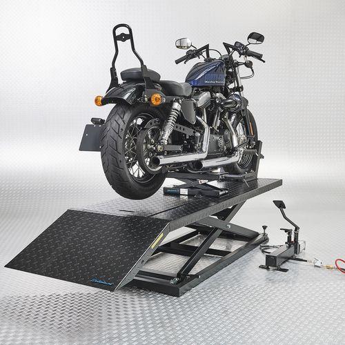 Motorheftafel met minilift