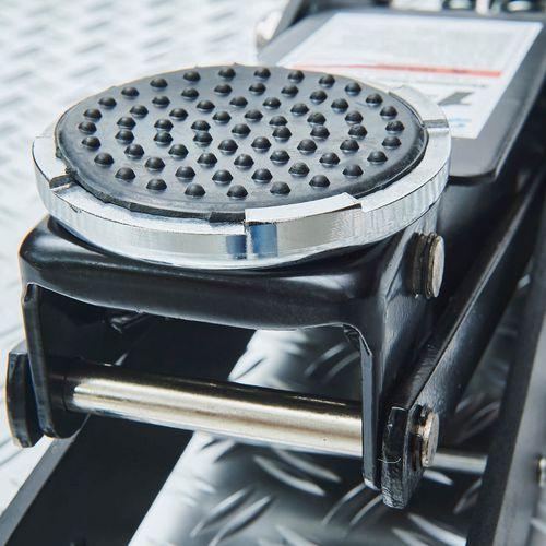 Krikpad voor extra grip op de aluminium krik