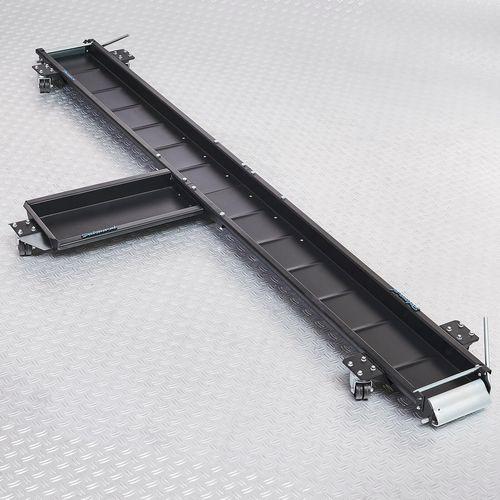 Motormover 240 cm lang zwart