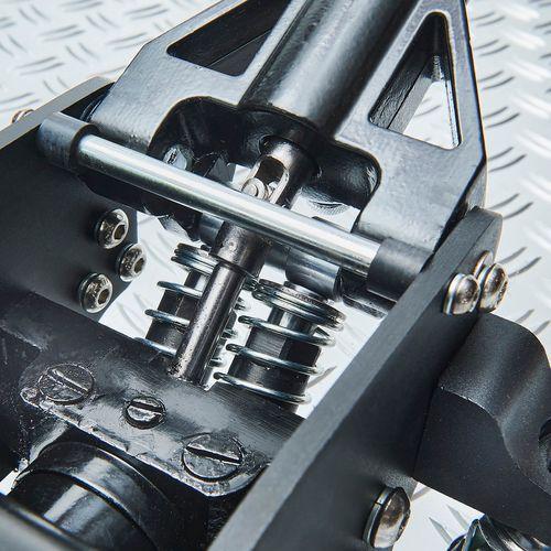 Mechanisme van de aluminium krik met assteunen
