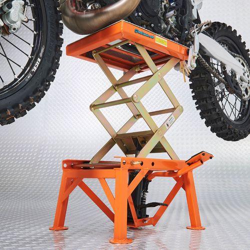 Datona crosslift oranje met schaarmechanisme