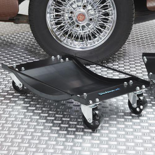 Transportkar bij autowiel