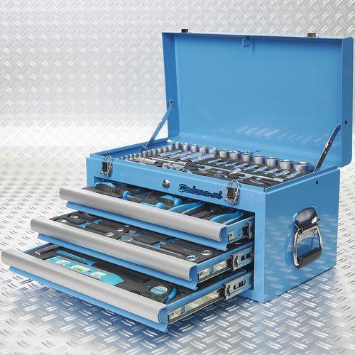 vier lades gevuld met tools 51101 blue 4