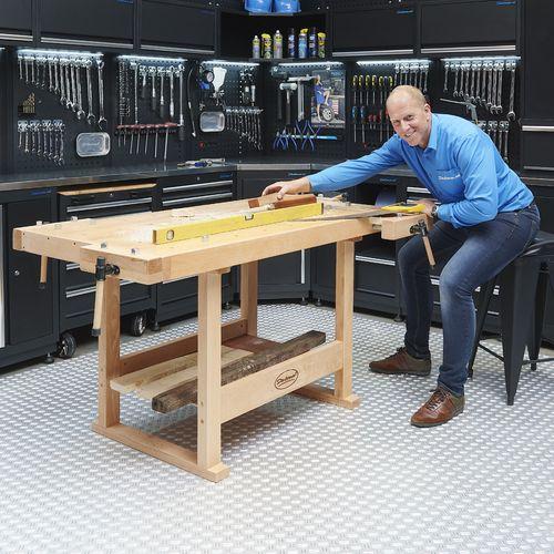 XL houten werkbank