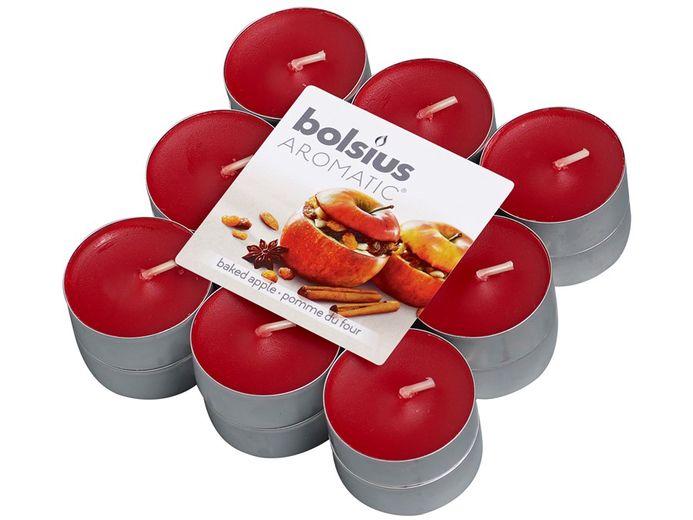 Bolsius geurlichten Aromatic Baked Apple - 18 stuks