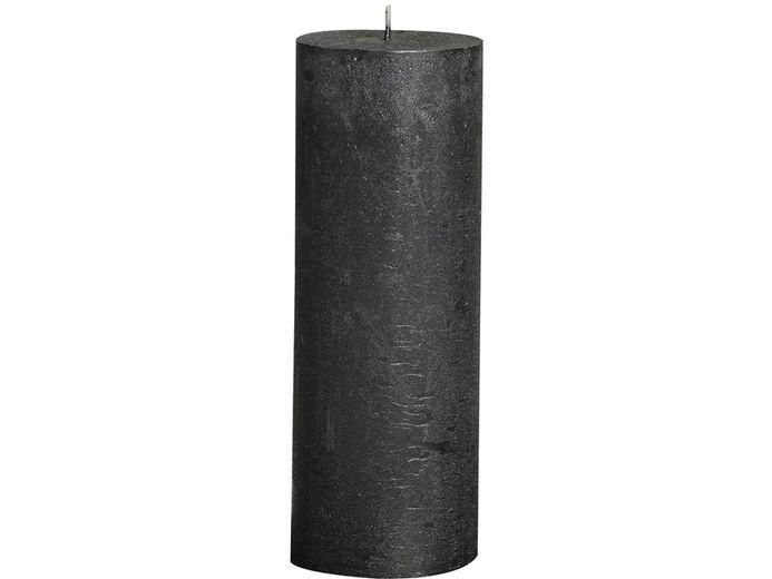 Bolsius stompkaars Metallic antraciet 190/68 mm