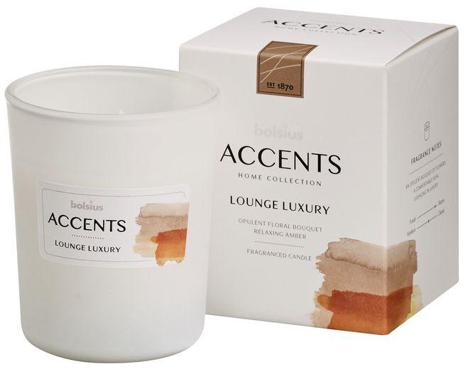 Bolsius geurkaars in glas Accents Lounge Luxury 100/80 mm