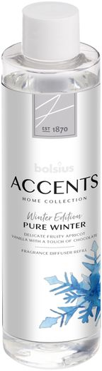 Bolsius Navulling Accents Pure Winter 200 ml