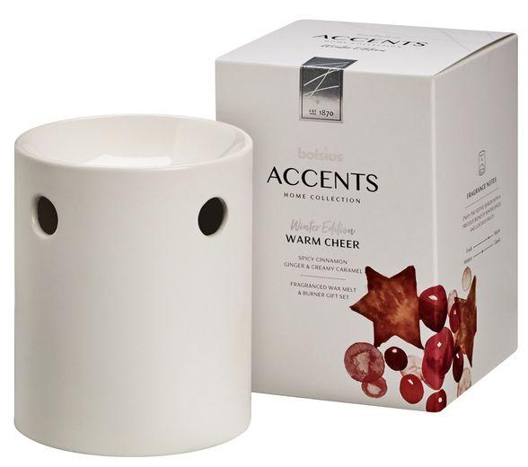 Bolsius Waxmelts Giftset Accents Warm Cheer
