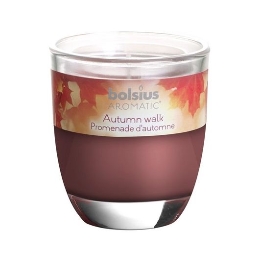 Bolsius geurkaars in glas Aromatic Autumn Walk 80/70 mm