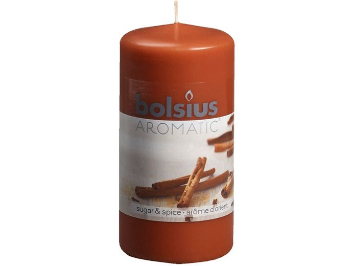 Bolsius stompkaars Aromatic Sugar & Spice 120/60 mm