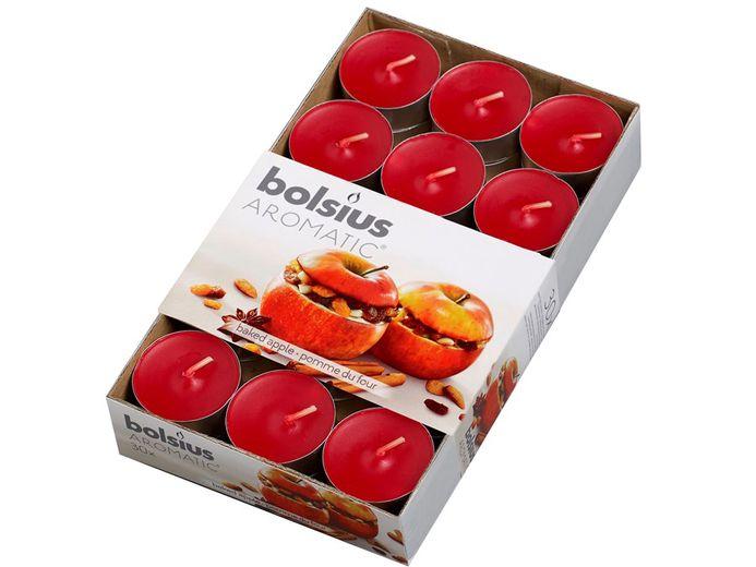 Bolsius geurlichten Aromatic Baked Apple - 30 stuks