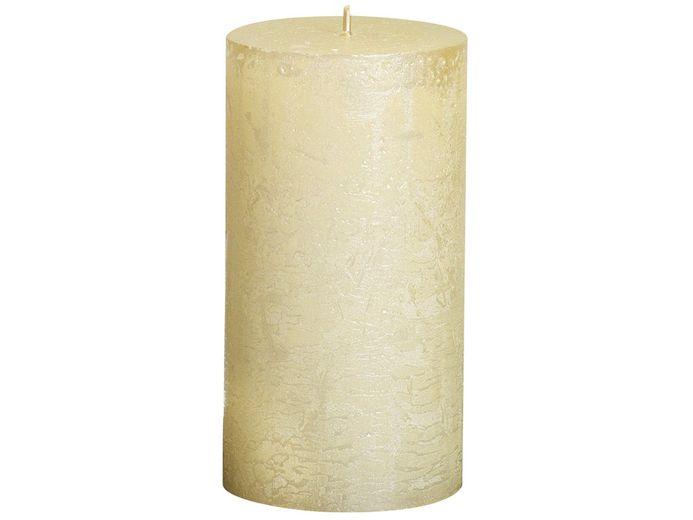 Bolsius stompkaars Metallic ivoor 130/68 mm