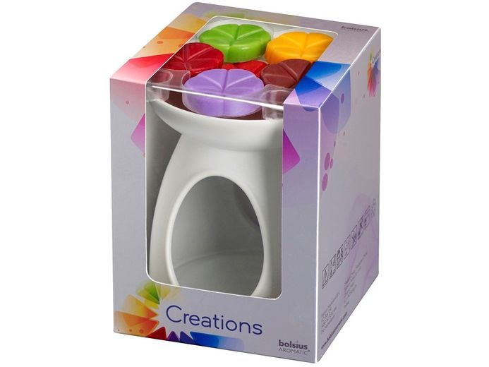 Bolsius giftset Creations wit