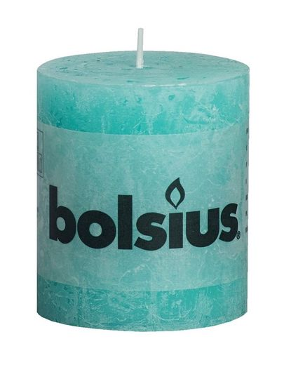 Bolsius stompkaars Rustiek oceaan 80/68 mm