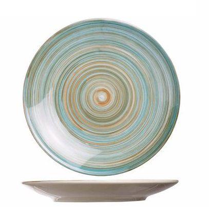 Cosy & Trendy dessertbord Turbolino blauw
